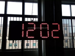 12 inch mini 7 segment led display outdoor/7 segment led display for countdown timer