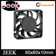 60*10mm Plastic Housing Small Size 12V Cooling Fan
