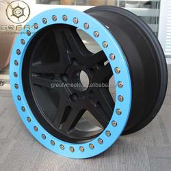 Alloy wheels for 4x4 wheel rim 114.3mm PCD hot selling