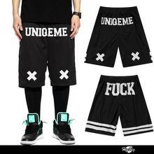 2015 sıcak yeni tasarım toptan hip hop giyim erkekler siyah nedensel dans kısa aşınma