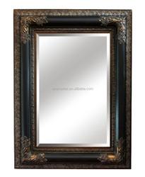 Antique art deco wooden picture frame for canvas paints