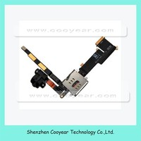 for iPad 2 3G Replacement Headphone Audio Jack Sim Card Holder Flex Cable