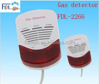 FDL-2266 LPG gas detector, LPG/natural gas/coal gas leak detector for home kitchen using