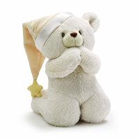 Latest custom stuffed plush sleep bear toy with hat