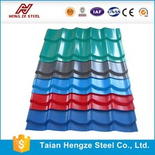 Épaisseur 0.21 ~ 0.36 DX51D tôle de toiture et tôle de toiture en métal de zinc 50 de Shandong usine
