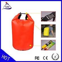 new 15L sports outdoor waterproof plastic bag,waterproof travel bag,waterproof cell phone bag for canoe kayak rafting