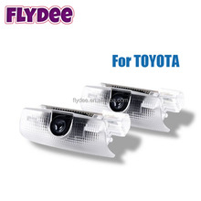 Super Bright Car Vehicle Ghost LED Courtesy Welcome Logo Light Lamp Shadow Projector for Toyota