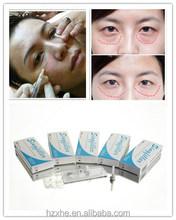 Anti-aging Injectable sodium Hyaluronate Gel/Hyaluron Acid dermal filler remove Tear Trough/Crow's feet