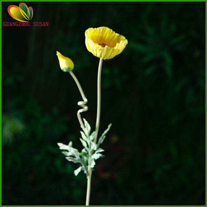 Fake poppy flower pu real touch artificial big poppy flowers for fake poppy flower pu real touch artificial big poppy flowers for sale mightylinksfo