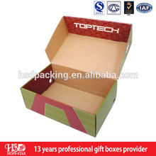 Ex customized stylish favor baby shoe box&handmade recycled cardboard shoe box wholesale