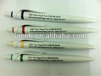 manufactory top sale white promotional pen 1000pcs free shipping