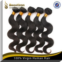 Hot sales high quality virgin human many color 100% human fish line hair extensions