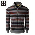Bemme 2015 homens cobre a venda personalizada listrado tricô camisola nova concepção