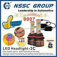 Stock Promotion 9007 Best Price Auto car Lighting HeadLight Led Hi/Low beam all-in-one 9004 9005 9006 9007 H4 H7 H8 H10 H13 H16