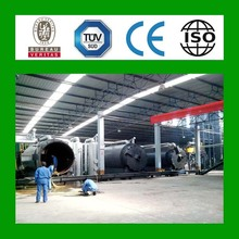 2014 hot sale 5th generation waste tyre recycling plant in india