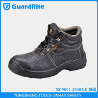 GuardRite breathable steel toe waterproof mining safety shoes
