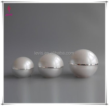 Acrylic ball cosmetic jar