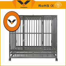 Dog cage with strong stainless steel dog cage house dog cage