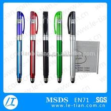 LT-Y919 Plastic Touch Pen Gel Pen with Promotional Banner Pen