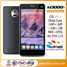 """Large Battery OMES M3000 5.0 inch 5 inch 5"""" 4G FDD LTE MTK 6592 Octa Core android high quality smart phone"""
