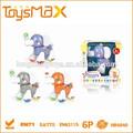 B/o de dibujos animados de los animales de juguete con música, la luz y se mueven para los niños