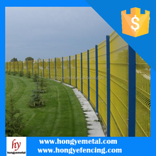 Cheap Welded Wire Mesh Curved Fence / High Security Curved Fence Panels