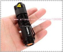 Mini LED Torch 7W 400LM Q5 LED Flashlight Adjustable Focus Zoomable flash Light Lamp