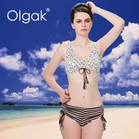 Olgak 2016 High quality Girl Hot Sexy Brazilian Bikini Swimwear With Short