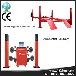 Wholesale and good price KWA-300 3D used car precision wheel alignment machine price