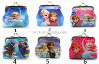 cheap PVC frozen kid coin purse