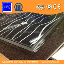 ISO Certificate 9001:2000 UV Embosed/UV Flower Painting Color Design Acrylic Sheet MDF for Cabinet