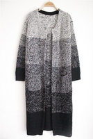 HFR-KW0701 wholesale thick knitted mature sweater cardigan