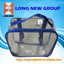 E 2015 new fashion high quality clear cosmetic pvc bag