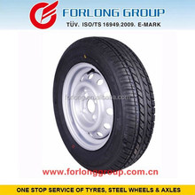 Trailer tyre and rim155/80R13 on wheel 4/100