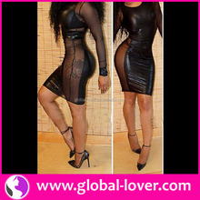 2015 hot sexy ladies dress tailor