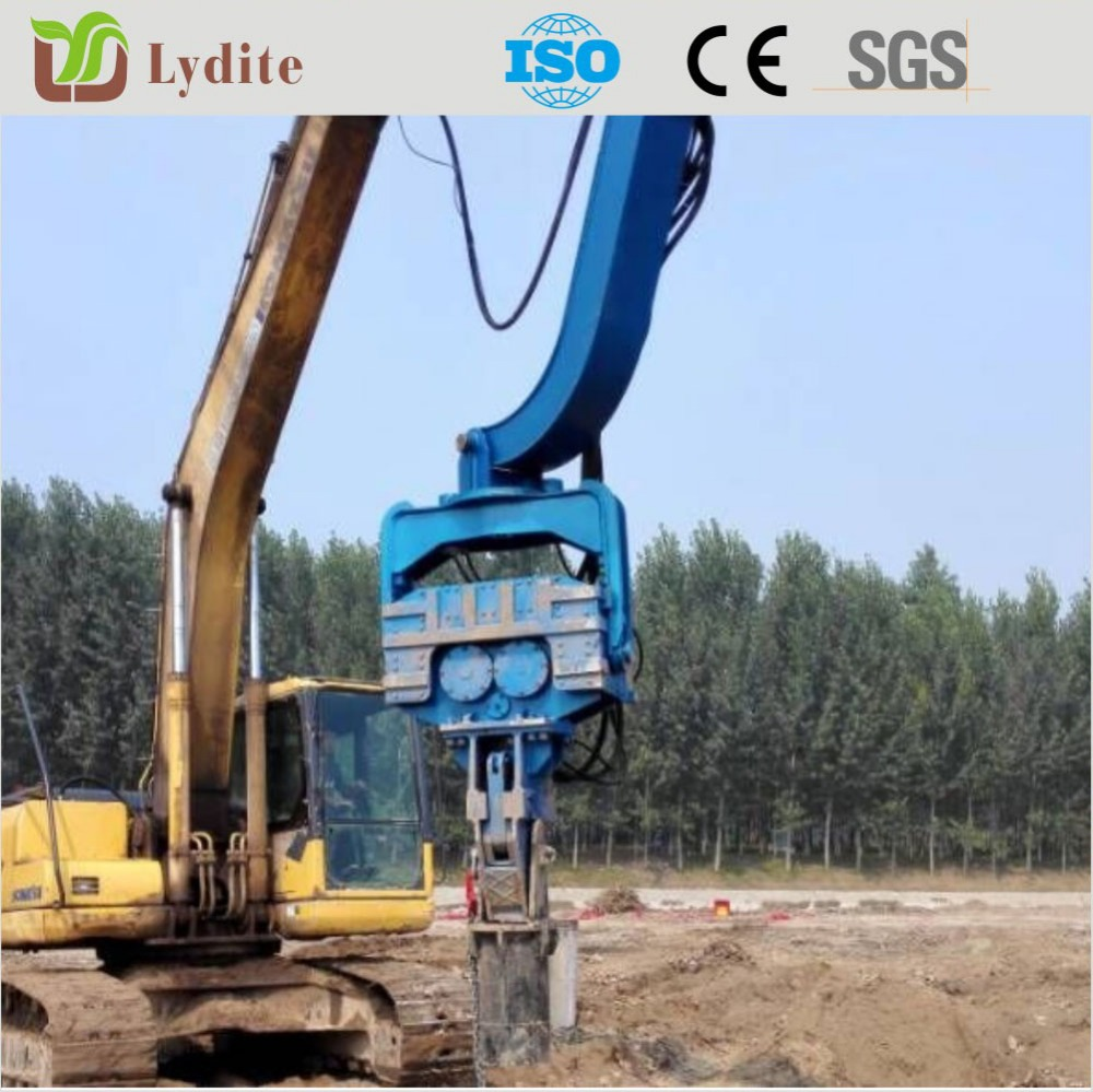For 20ton Excavator Mounted Hydraulic Vibro Hammer