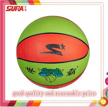 rubber basketball, new customized design for kids play