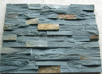 Natural Green Slate Cultured Stone Wall Panel