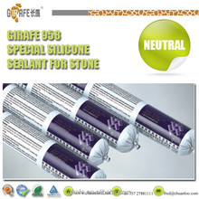 One components High grade UV Resistant Strong Adhesive Marble Silicone Sealant