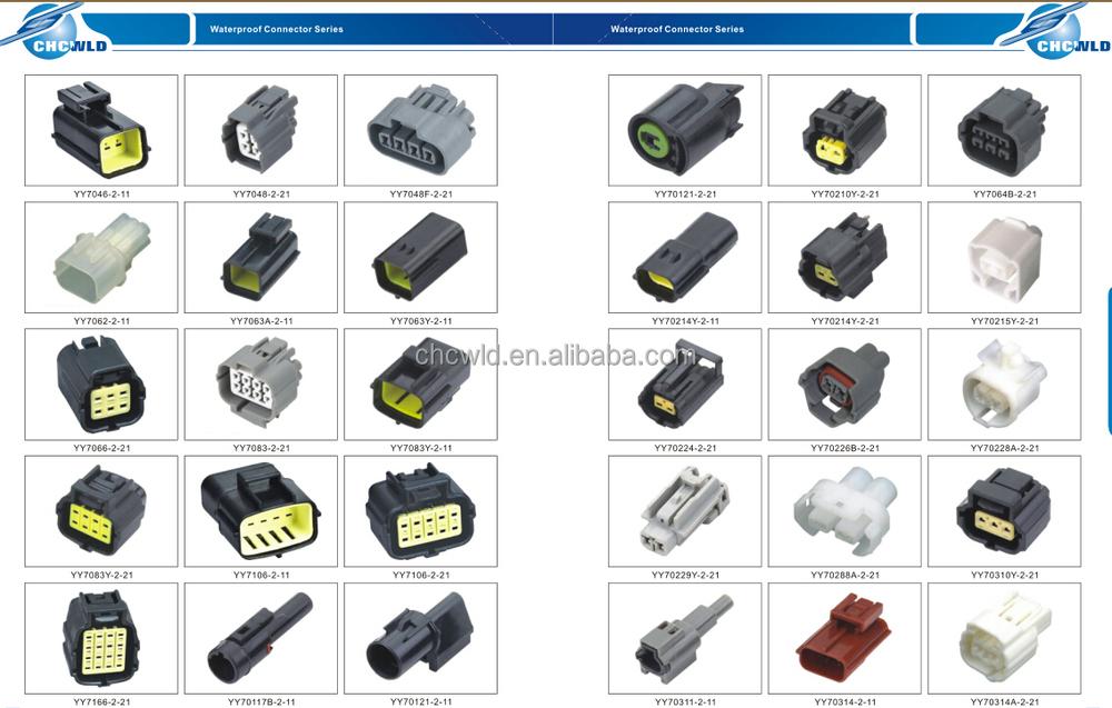 sumitomo 4 pin equivalent auto waterproof connector Sumitomo Connectors Sumitomo Connectors 2Wire