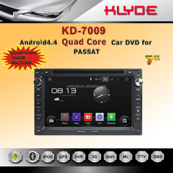Car DVD Player for PASSAT B5/ Golf 4/ Polo with quad core 16g Ram 1gb built-in GPS bluetooth support steering wheel control