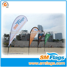 The newest product beach teardrop flag for advertising
