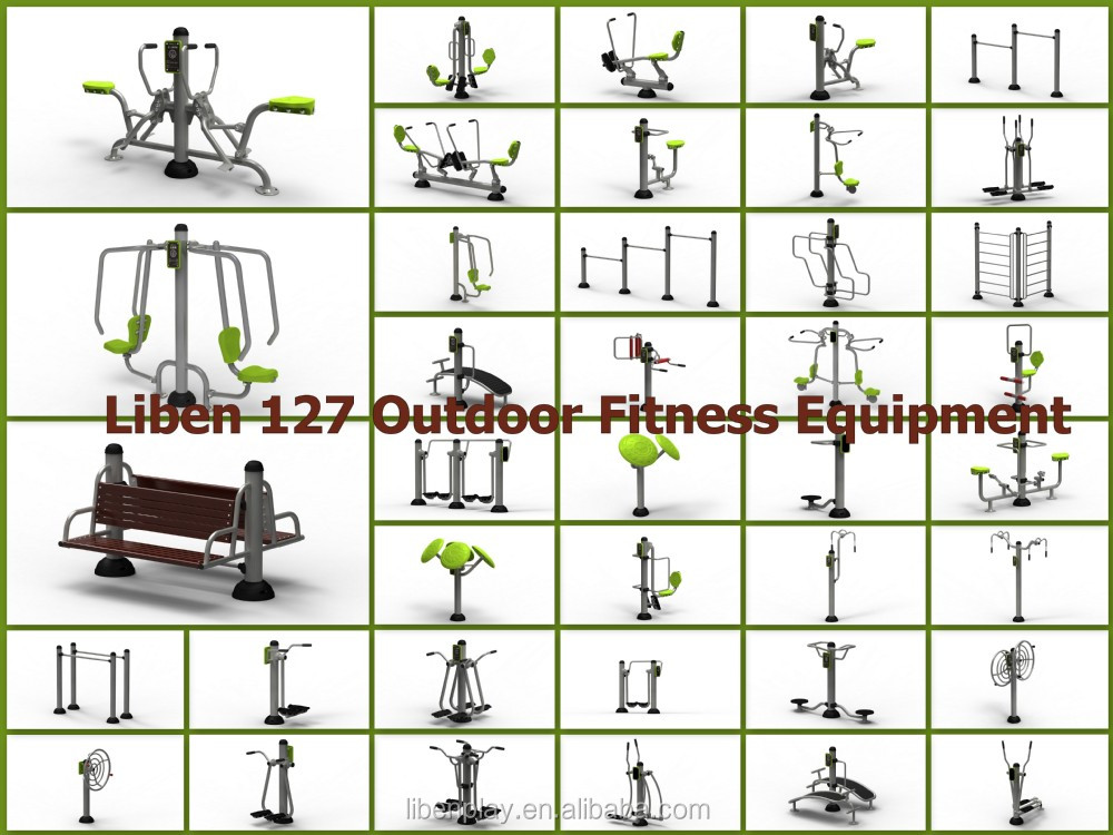 Various Models of Liben outdoor fitness gym equipment