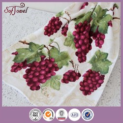 2015 best selling kitchen dish towels with vintage design