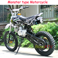 Good Quality Kick Start Petrol Bike 125CC Dirt Bike with Alloy Exhaust Pipe