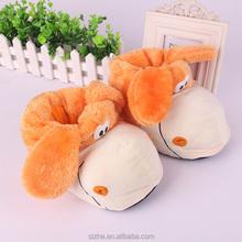 sz12-0065 China hot new design plush indoor slipper lady slipper eva slipper