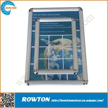 A1, A2, A3, A4 single sided snap fit display frame