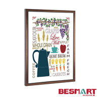 art minds kitchen wall decoration frame pictures