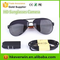 2015 hot sale 1080p sunglasses camera support 32gb sd card mini hidden camera with video / audio record