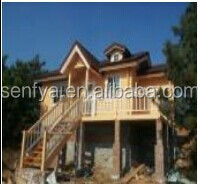 large prefabricated wooden dream homes